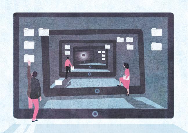 yasmine gateau, illustration, editorial illustration, I2D, documentaliste, litterature grise
