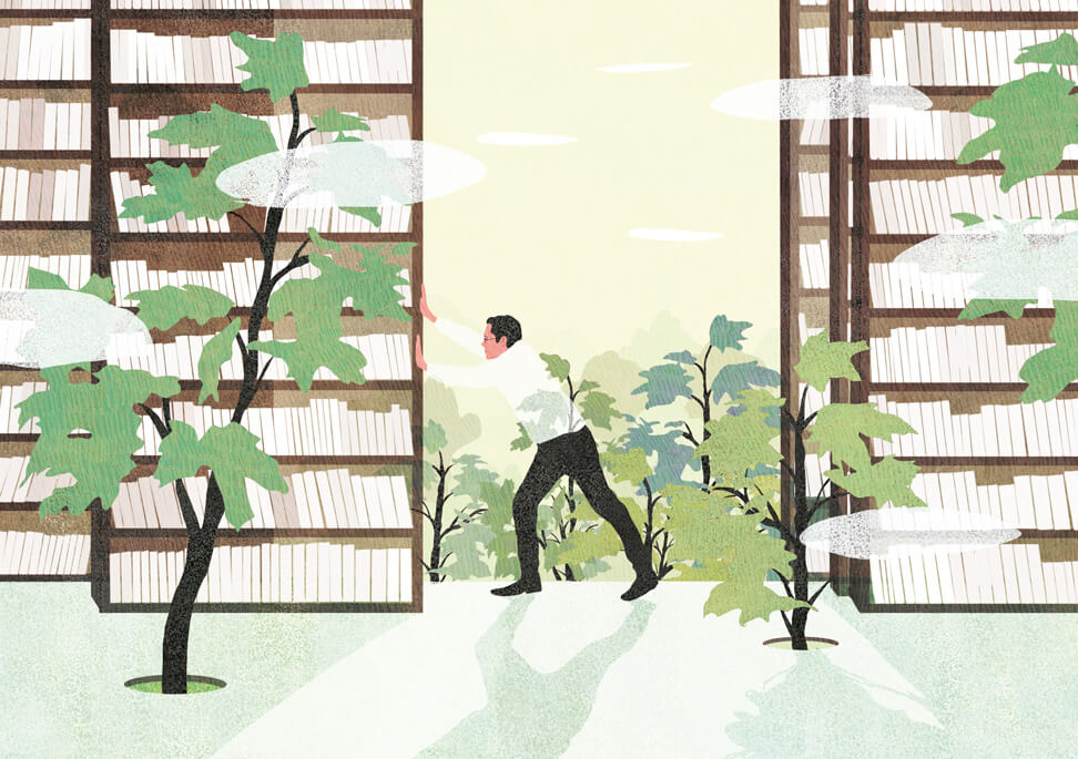 yasmine gateau, illustration, I2D, editorial illustration, learning centre