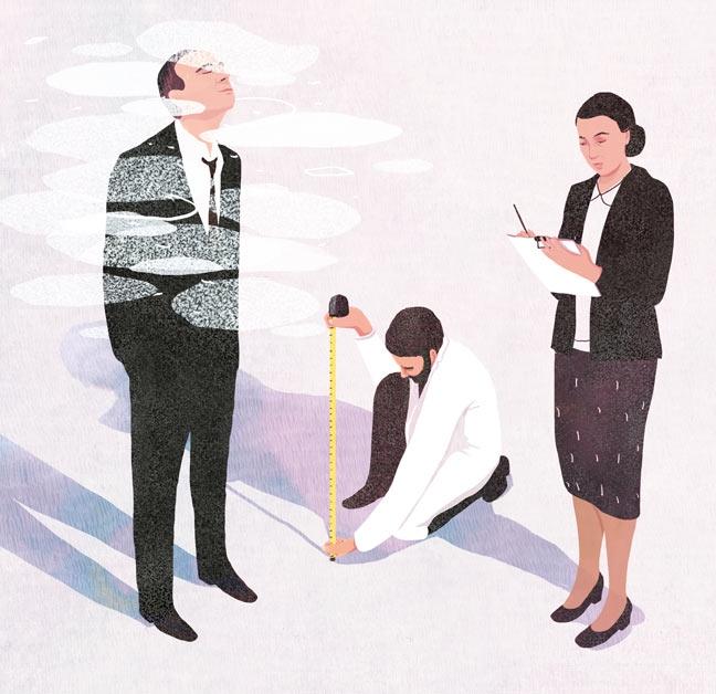 yasmine gateau, illustration, editorial illustration, le monde, le bonheur des citoyens est une boussole