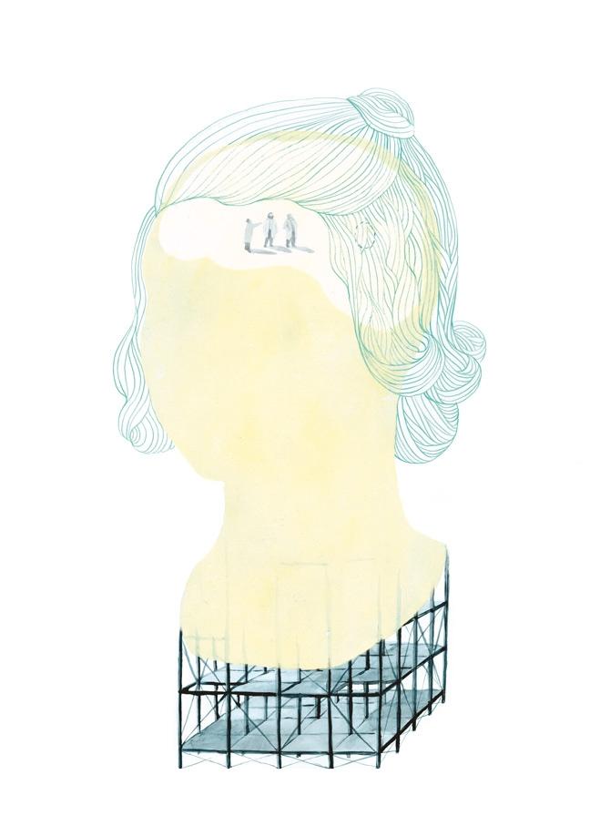 yasmine gateau, illustration, editorial illustration, rosemary kennedy