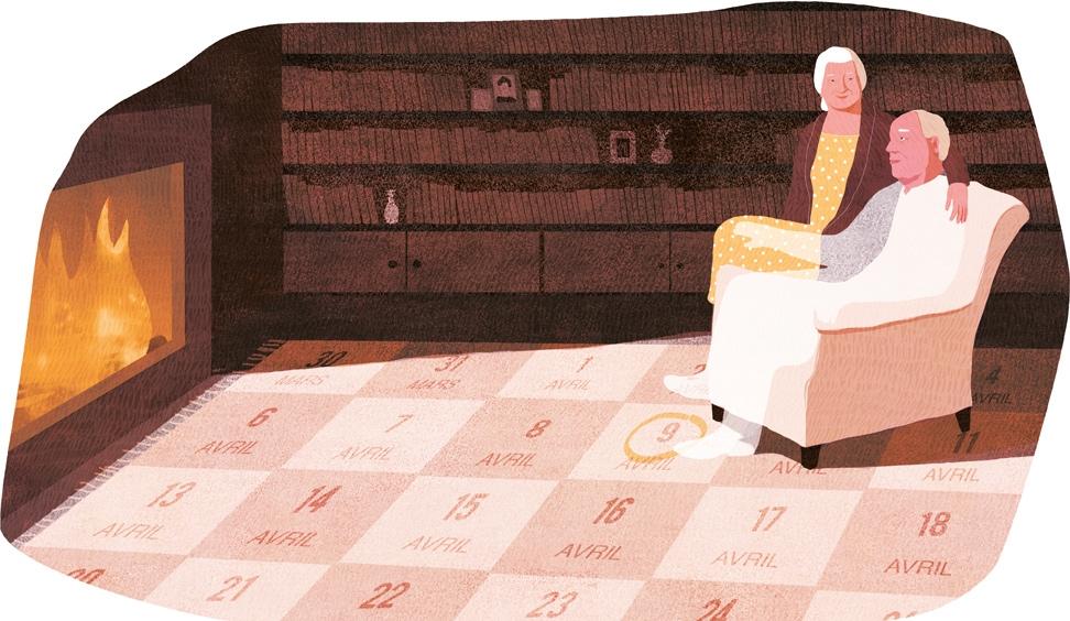 yasmine gateau, XXI, illustration, editorial illustration, les derniers jours d'Alexandre