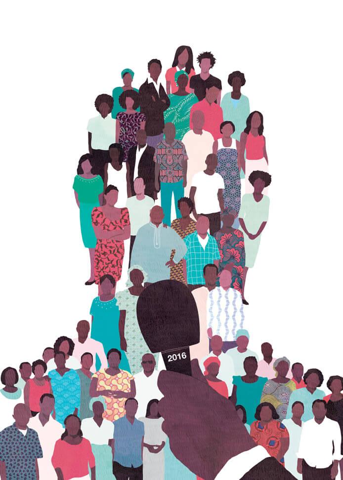 africa report, yasmine gateau, illustration