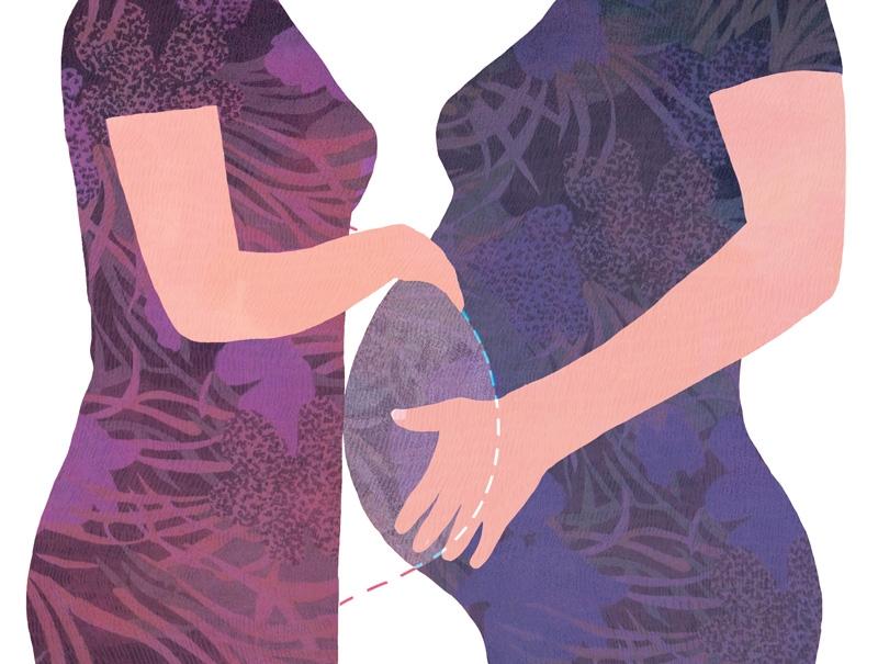 le monde, illustration, yasmine gateau, soeurs, couffin, gpa