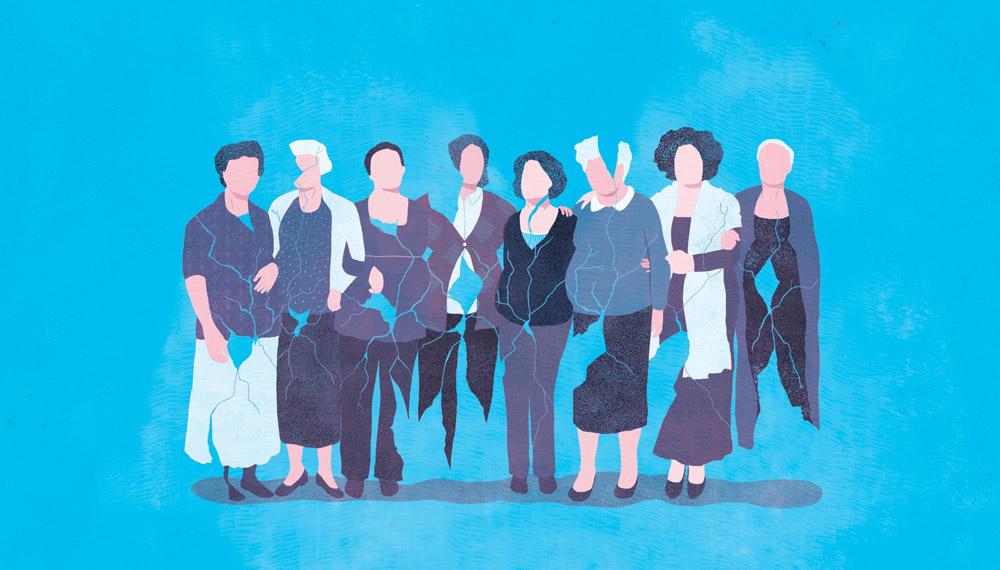 illustration, yasmine gateau, gynger, irlandaises