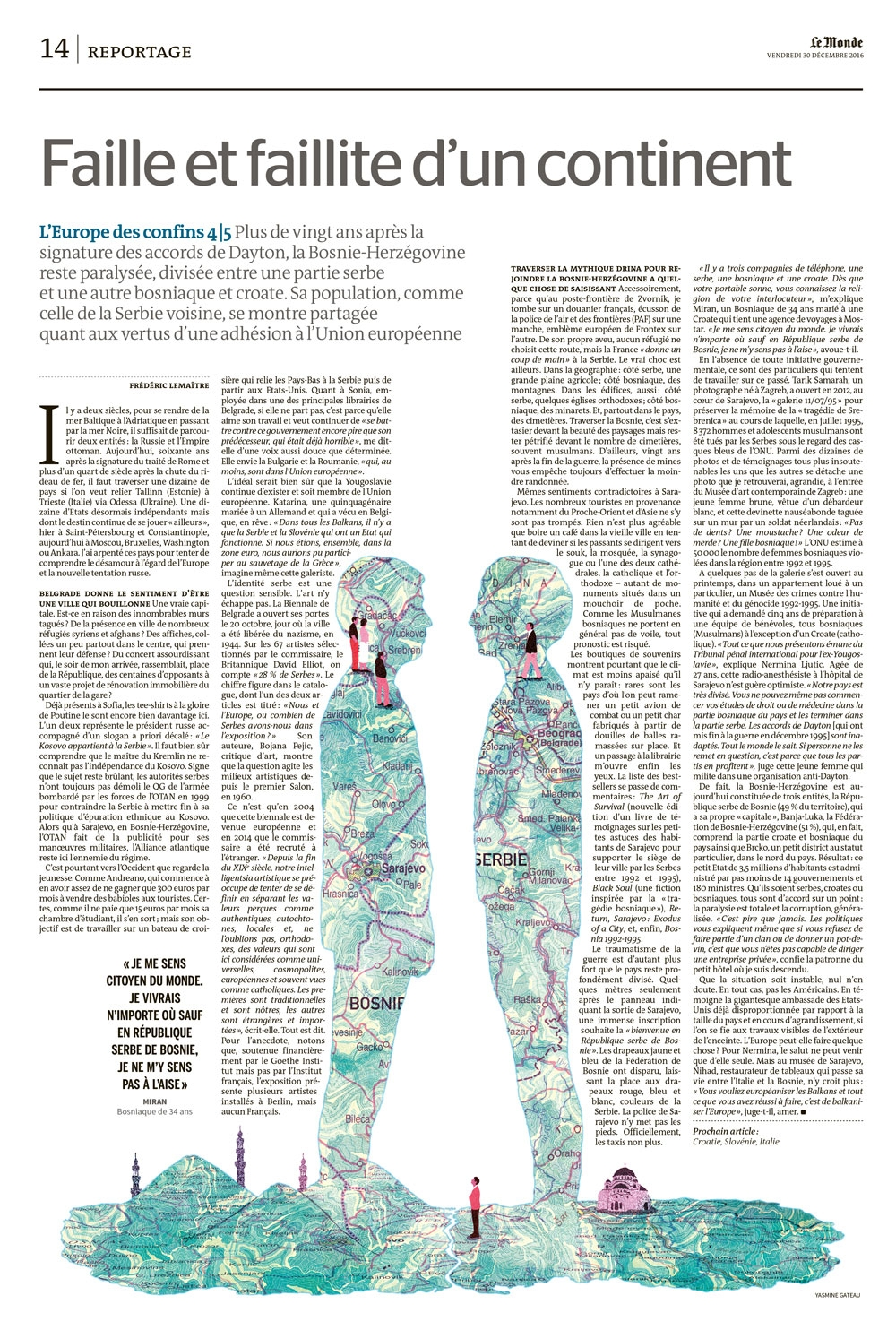 yasmine gateau, illustration, le monde, europe, baltes, cartographie