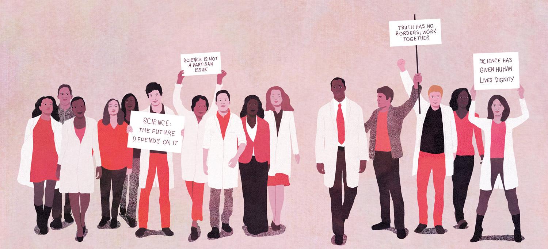 yasmine gateau, science magazine, march for science